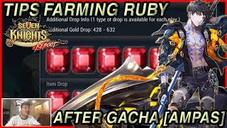 Seven Knights - TIPS FARMING RUBY AFTER GACHA NEW SPECIAL HERO