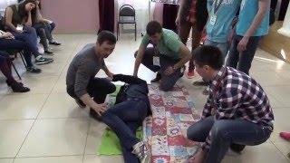 Оказание первой помощи пострадавшим детям! Мастер-класс для вожатых от ОСВОД и спасателей Казани