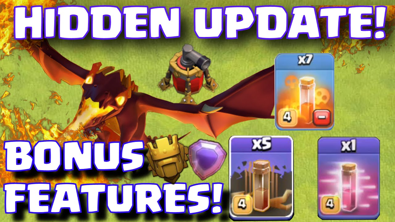 clash of clans level 5 dragons update coc