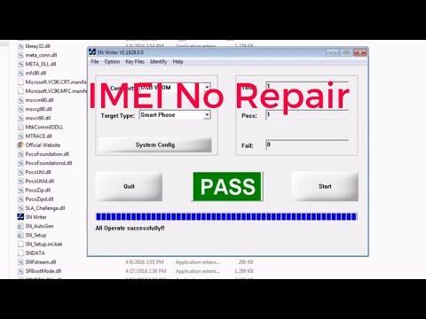 How To IMEI No Repair 100%  All Mediatek 2019 (micromax Q463)