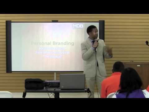 "Teens and College Motivational Speaker | Craig Stokes | ""I'm A Brand"""