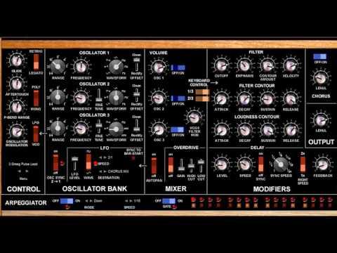 Free Moog Minimoog Voyager Synthesizer VST Emulation