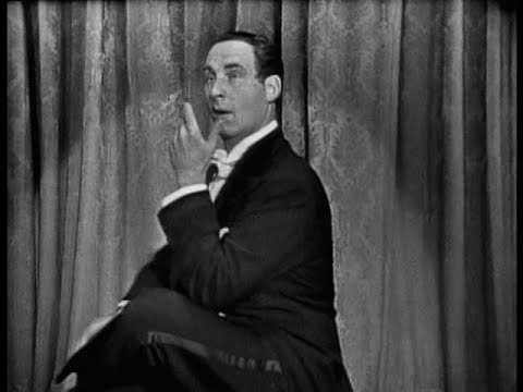 SID CAESAR: Grieg Piano Concerto PANTOMIME CAESAR'S HOUR, May 25 1957