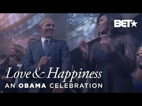 Potus & Flotus Dancing | Love & Happiness, an Obama Celebration