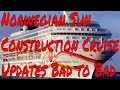 Norwegian Sun Panama Canal Cruise From You Know Where Updates and Travel Trivia!