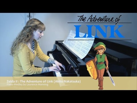 Zelda II : The Adventure of Link (Piano Medley) - Including Palace Theme