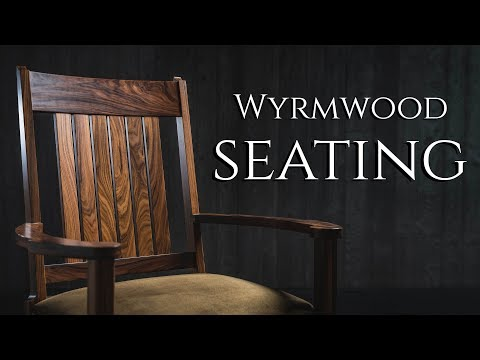 Wyrmwood Chairs & Benches!