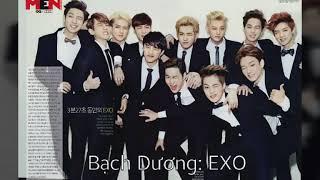 12 cung hoàng đạo là thành viên thất lạc của nhóm nhạc K-pop nào?