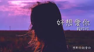 【好想愛你】賴珍珍 Official Lyrics Video