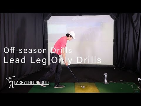 Off-Season Drills – Lead Leg Only Swings