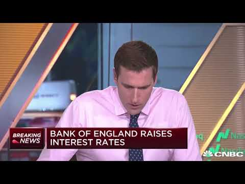 CNBC Breaking News: Bank of England raises interest rates | Finance and Crypto