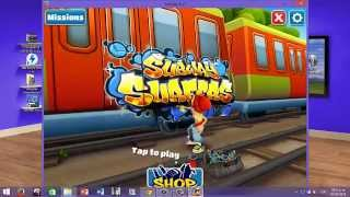 COMO DESCARGAR E INSTALAR SUBWAY SURFERS PARA PC (windows 7, 8, 8.1 )