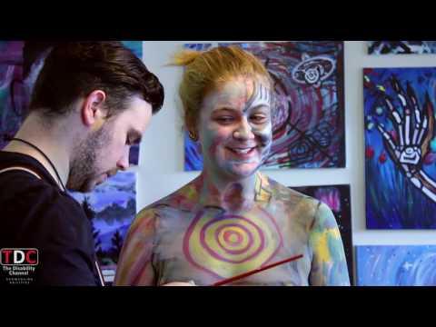 TDC - Human Canvas Initiative w/ MATTI MCLEAN - Guests; GEORGIA #Arts #BodyPainting #Express