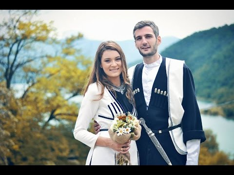 Грузия Свадьба Нини День рождения Georgia საქართველო ქორწილი მოდის მოდელი ნინი დაბადების დღე