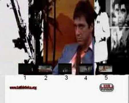 DVD-LWU scarface menu
