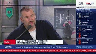 Pierre Ducrocq défend Riyad Mahrez, le héros algérien de la soirée !