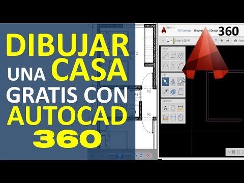 Curso De AutoCAD 360 Gratis. Como Dibujar Una Casa En Formato AutoCAD Por Internet