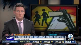 2 Central Florida students arrested in school shooting plot