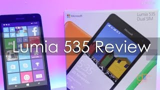 Microsoft Lumia 535 Windows Phone Review Is it any good?