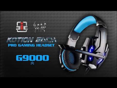 Fone Gamer Kotion Each G9000 Headset Usb P4 35mm Ps4 E Pc Youtube