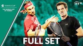 Ruben Bemelmans v Andy Murray | Full Set | 2015 Davis Cup