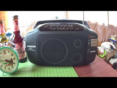 Thomson RT462 P Radio, Quick Review, Shortwave Scan