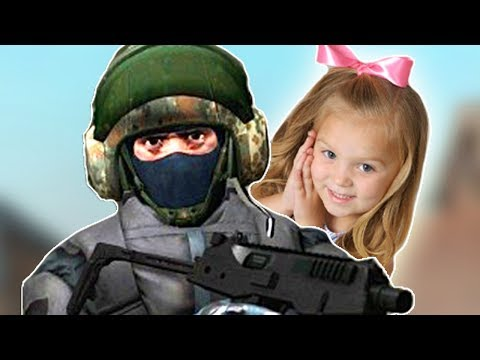 CS:GO WITH MY DAUGHTER