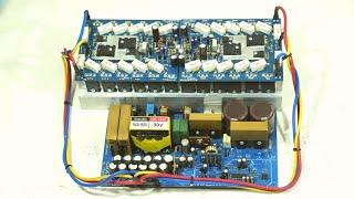 1200W Stereo Power Amplifier Yiroshi Crown [DIY + TEST] - PCBWay