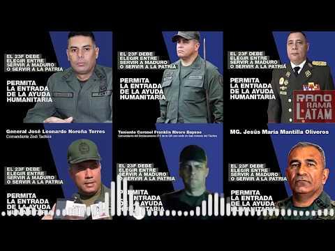 AUDIO REVELA EL MIEDO DEL CHAVISMO APUNTO DE QUEBRARSE EL ALTO MANDO DE MADURO