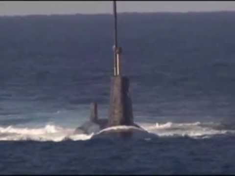 Footage of the unarmed Trident II (D5) ballistic missile being fired (P2)