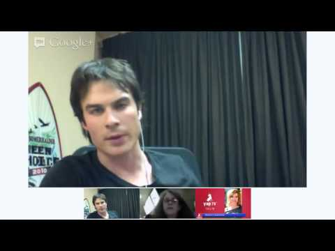 Women decide 2012 with Ian Somerhalder and Sharon Lawrence!