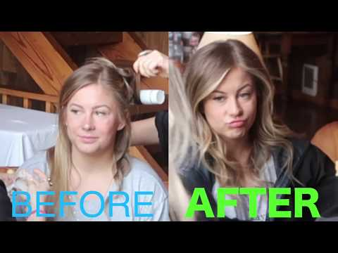 TV  MAKE UP! Get Ready With Me  Shawn Johnson