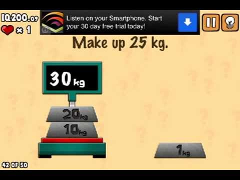LEVEL 42 WALKTHROUGH What's my IQ ? (iPhone,iPod,iPad) IQ TEST