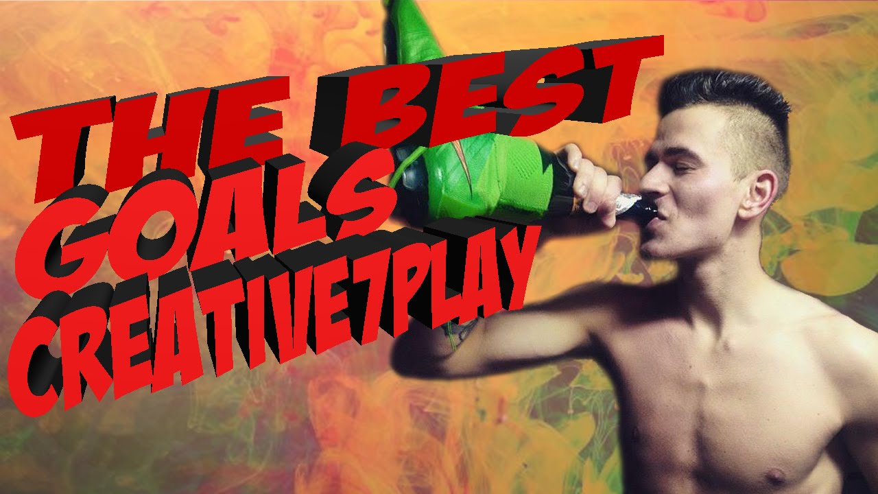 ЛУЧШИЕ ГОЛЫ СЕРЕГИ КРЕАТИВА | THE BEST GOALS CREATIVE7PLAY | НАРЕЗКА - FIFA 16 | creative7play