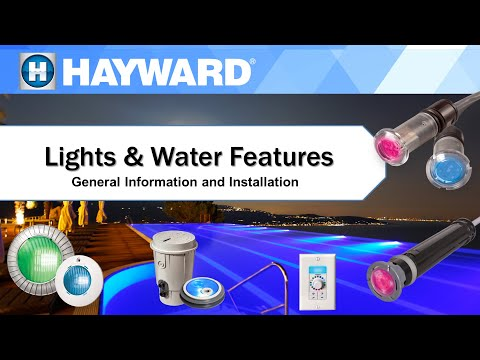 Hayward  LED Lights and Water Features