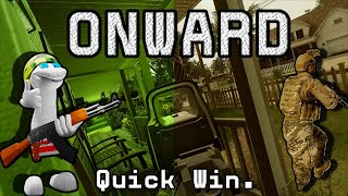 VR Realistic Military Shooter - Onward VR Gameplay. [Suburbia - Night]