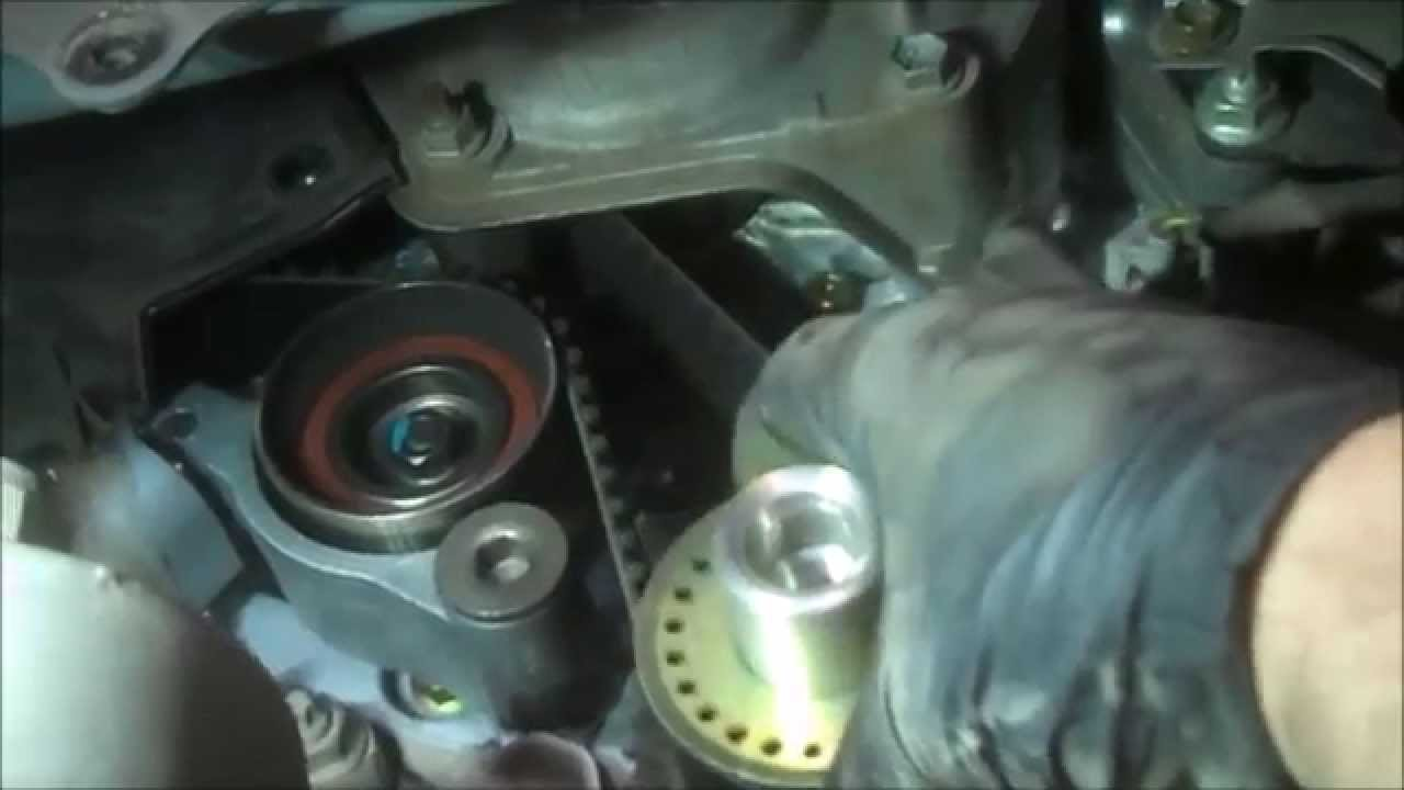 Timing Belt Replacement Toyota Sienna 2006 Part 2 V6 33l Water Pump 2013 Camry Engine Diagram Install Remove Replace How To Youtube