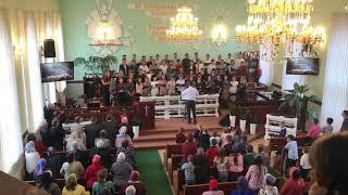 """Soli Deo Gloria"" Хор церкви Христа Спасителя. Пасха 2019"