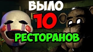 Five Nights At Freddy s 3 Было 10 Ресторанов Теории и Пасхалки 5 Ночей У фредди