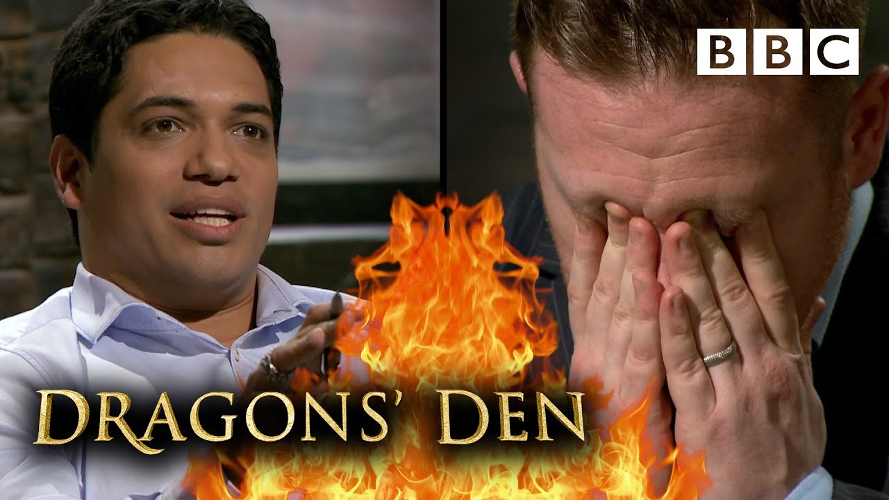 Dragons moved as entrepreneur breaks down mid-pitch! | Dragons' Den - BBC