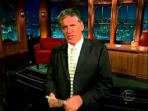 Late Late Show with Craig Ferguson 5/11/2009 Steven Wright, Bryce Dallas Howard