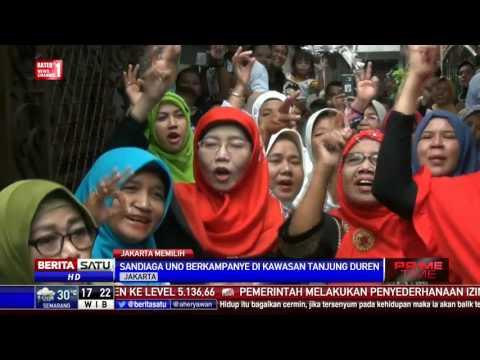 Kampanye di Tanjung Duren, Sandi Janji Beri Bantuan Pelaku UKM Mp3