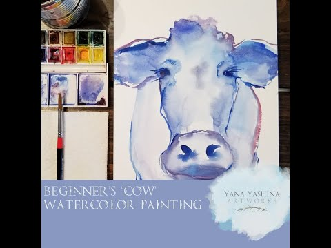 easy cow painting - Myhiton