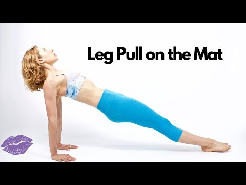 Leg Pull on the Mat | Online Pilates Classes