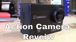 $45 Crosstour Action Camera 1080p Review