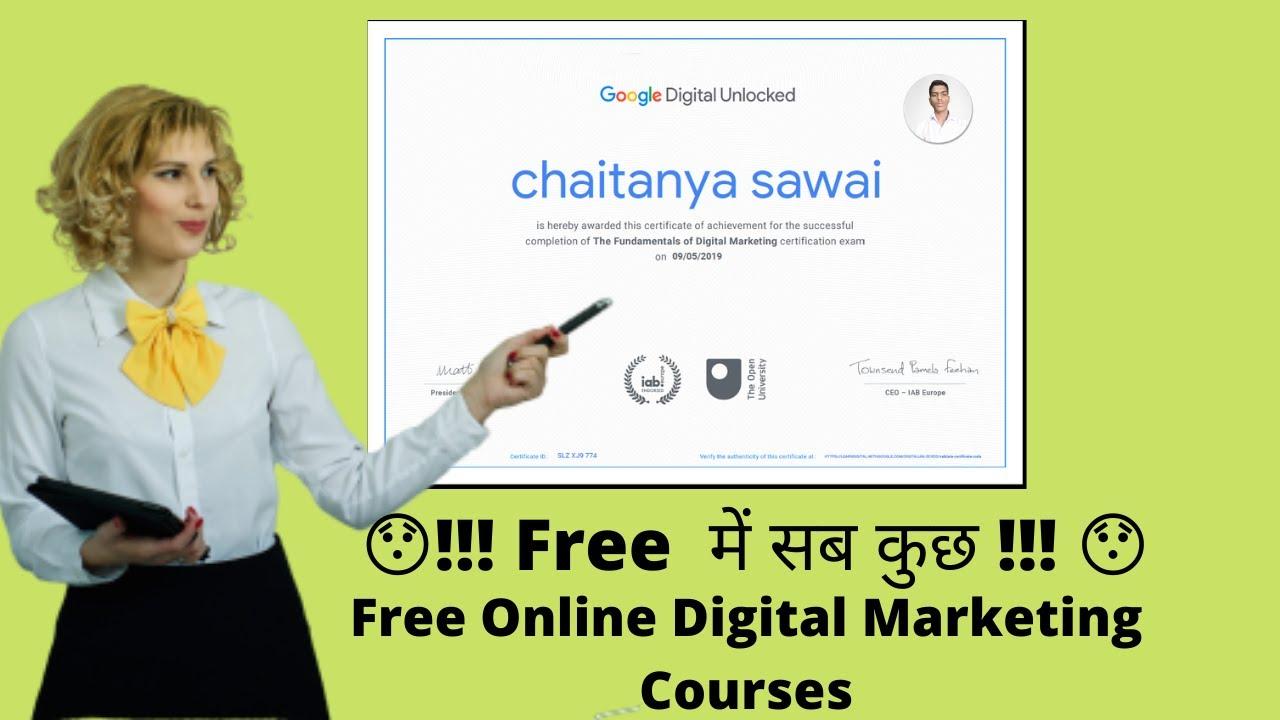 Need a online marketing agencies in san jose? Free digital marketing course | Free online courses with ...