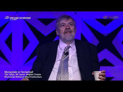 SSAC20: Moneyball To Homerball With Bill James And Tom Tango