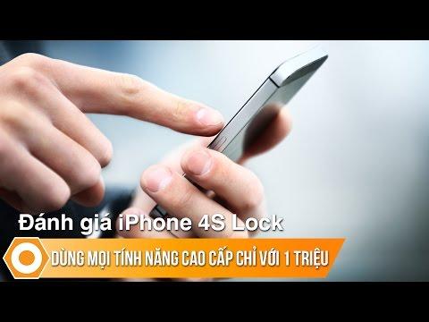 Đánh giá iPhone 4S Lock - Dùng mọi tính năng cao cấp của Apple chỉ với 1 triệu
