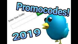 Promocodes para roblox 2019! WolfFire 329