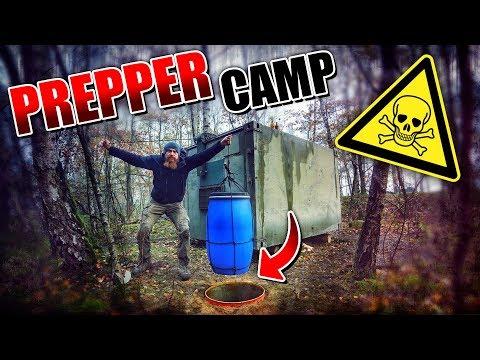 ERDKÜHLSCHRANK am Container selber bauen - Prepper Camp #005   Fritz Meinecke